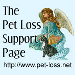 The Pet Loss Support Page Logo